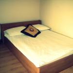 Łóżko w Hotelu Ublik