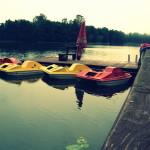 Flota rowerów, łódek i kajaków w Hotelu Ublik