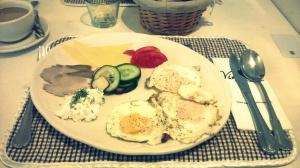 Śniadanie.
